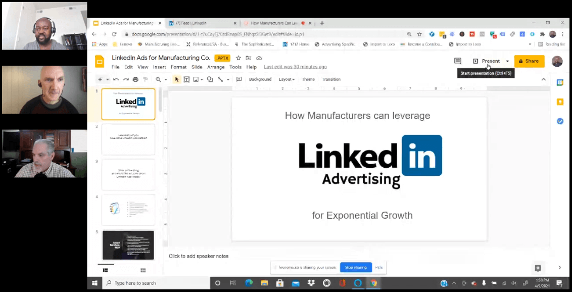 Leveraging LinkedIn Ads and Sales Navigator